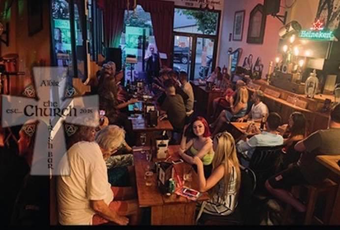 The Church Irish bar