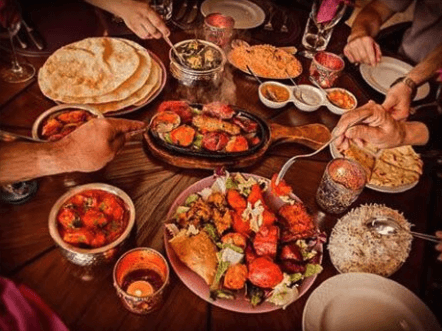 Restaurante hindú Saritas