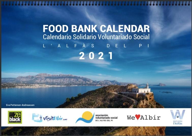 Food Bank Charity Calendar 2021